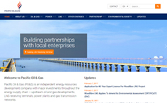 Pacific Oil & Gas | Energy Resources Development