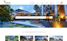 Exotiq Property Real Estate Website
