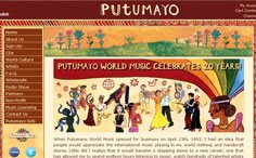 Putumayo ECommerce Website