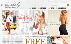 Miraclebody ECommerce Website